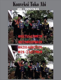 Tempat Bikin Toga Wisuda Area Tangerang, Tangerang Selatan (tangsel), Kabupaten Tangerang