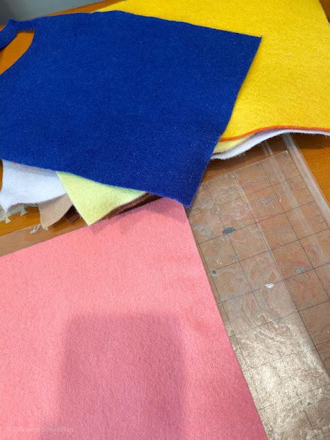 Cutting Felt, CAMEO 4, Rotary Blade, silhouette rotary blade, Felt