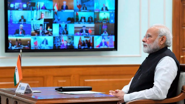 Pm-Modi-will-hold-talks-with-chief-ministers-of-all-states-on-today-through-video-conferencing-about-the-lockdown