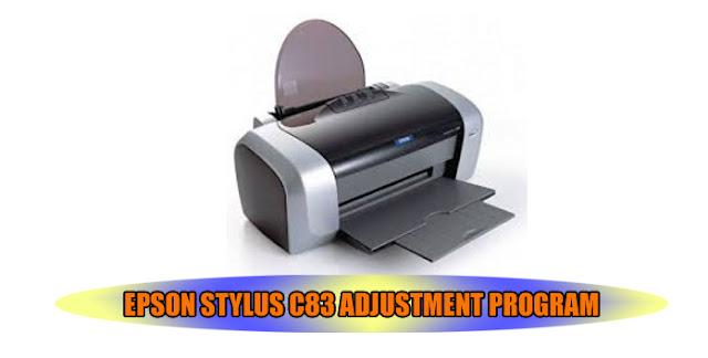 Epson Stylus C83 Printer Adjustment Program