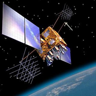 Satélite Usado no Sistema de Posicionamento Global
