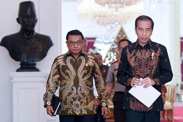 Moeldoko Ketahuan Kerap Gunakan Fasilitas Negara untuk Temui BuzzeRp, Elite PD: Kenapa Jokowi Tak Menegur?