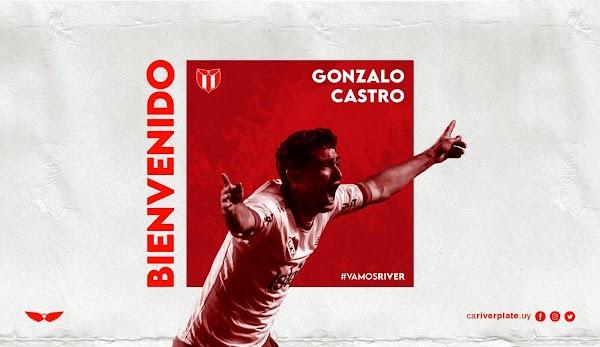 Oficial: River Plate de Uruguay firma a Chory Castro