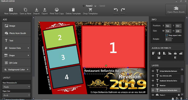 Download template photobooth Revelion 2019 v2