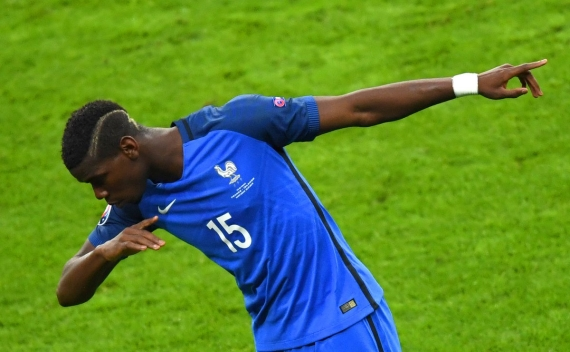 France midfielder Paul Pogba is linked with a move to Manchester United in a world record fee.