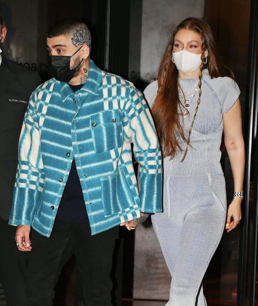 Zayn and Gigi out in NYC