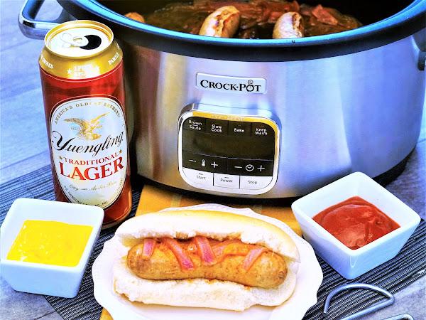 Crockpot Beer Brats