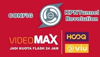 Download Config KPN Tunnel Telkomsel VideoMax Terbaru 2018