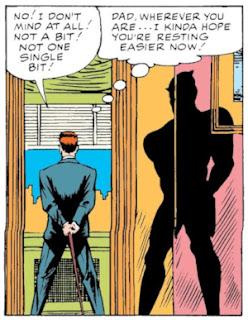 Daredevil #1, the end