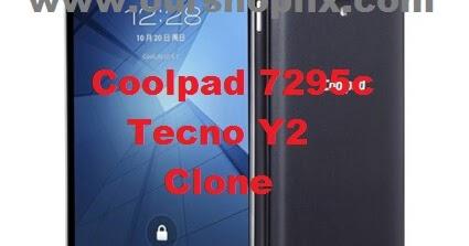 Coolpad 7295C_Tecno Y2_MT6582 Flash File Firmware | Stock