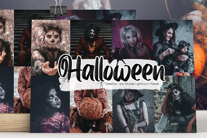 CreativeMarket Halloween Lightroom Presets 5457965