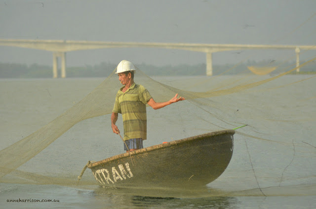 The Basket Boats of Hoi An