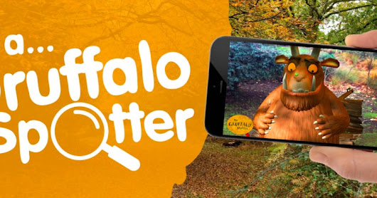 If You Go Down To The Woods Today...Gruffalo Spotting With the New App