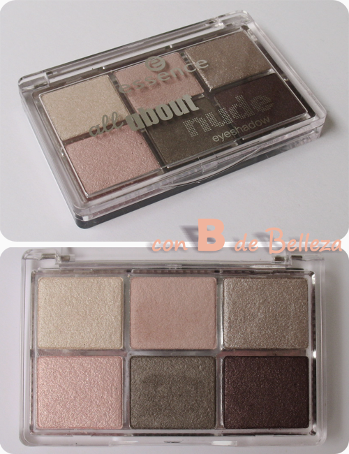 All about nude paleta