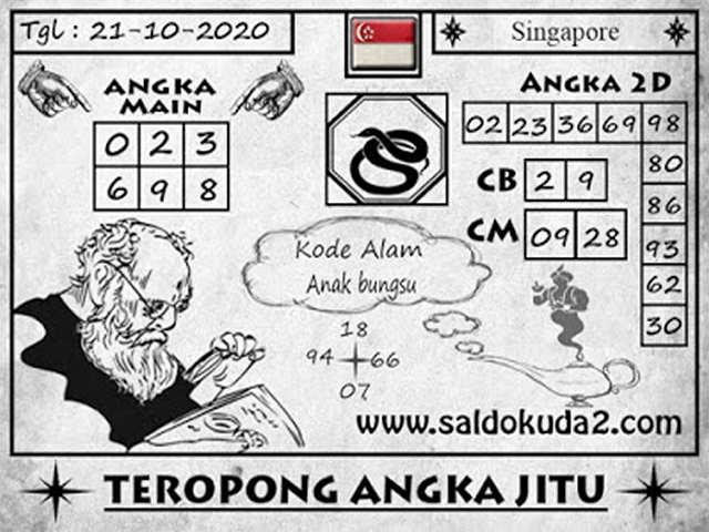 Kode syair Singapore Rabu 21 Oktober 2020 150
