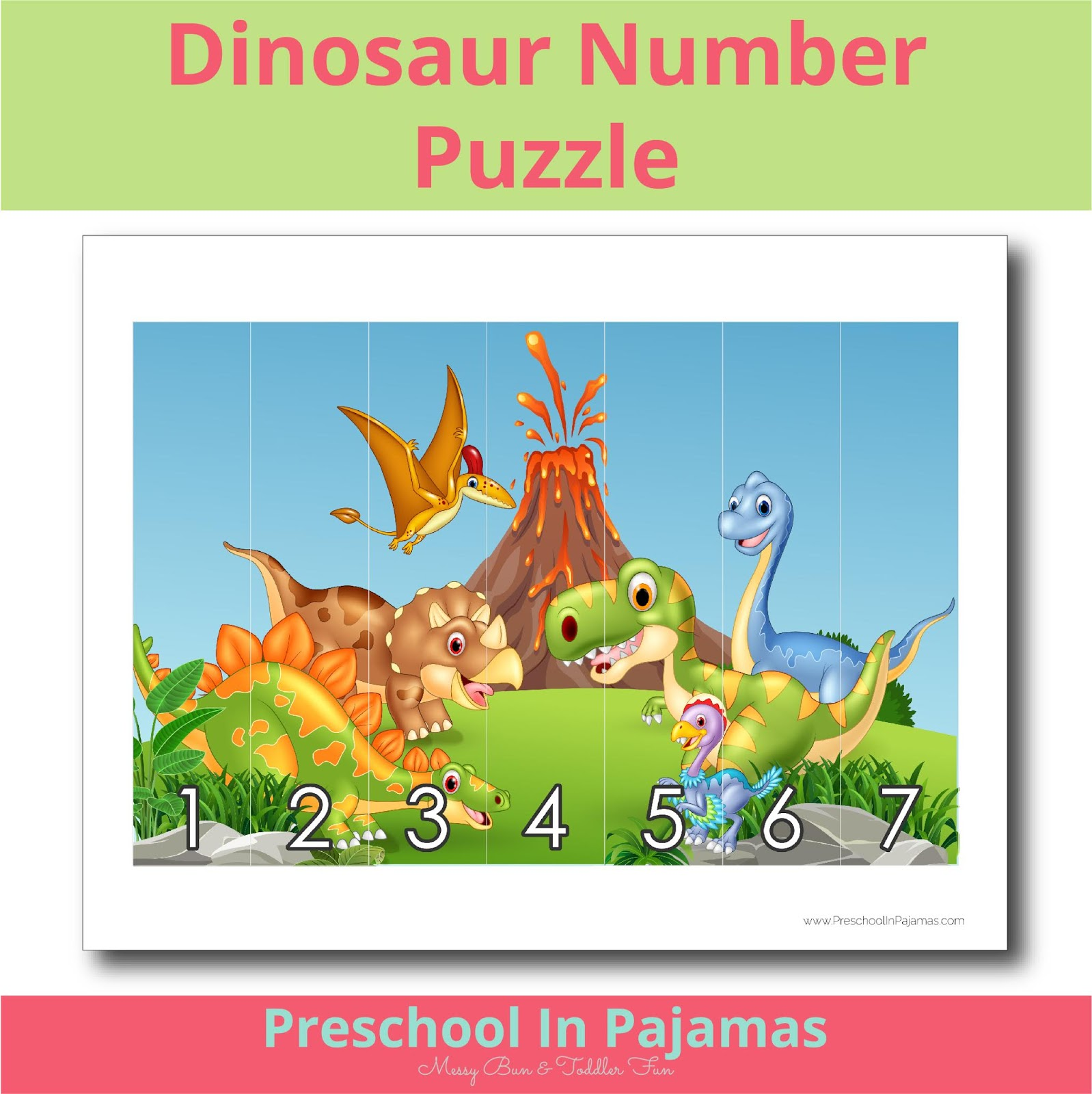 Free Printable Number Puzzle