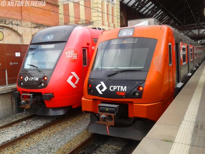 CPTM aprova testes e fixa novo trajeto da Linha 7-Rubi até o Brás nos dias úteis