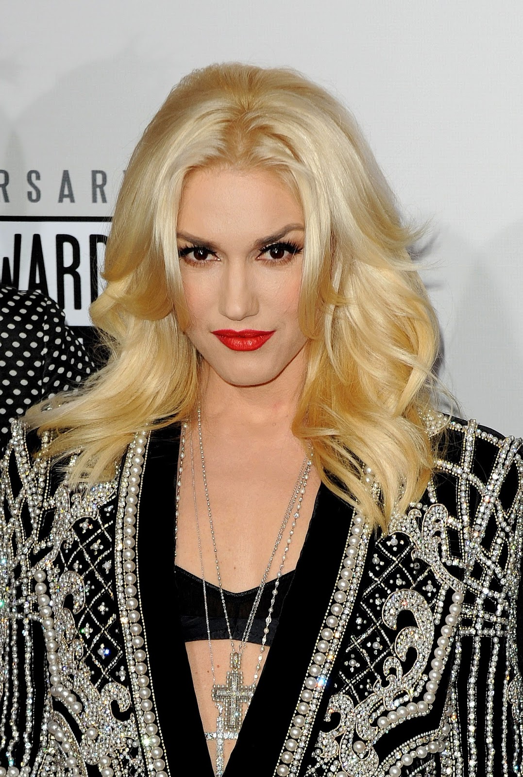 Gwen Stefani Red Lip