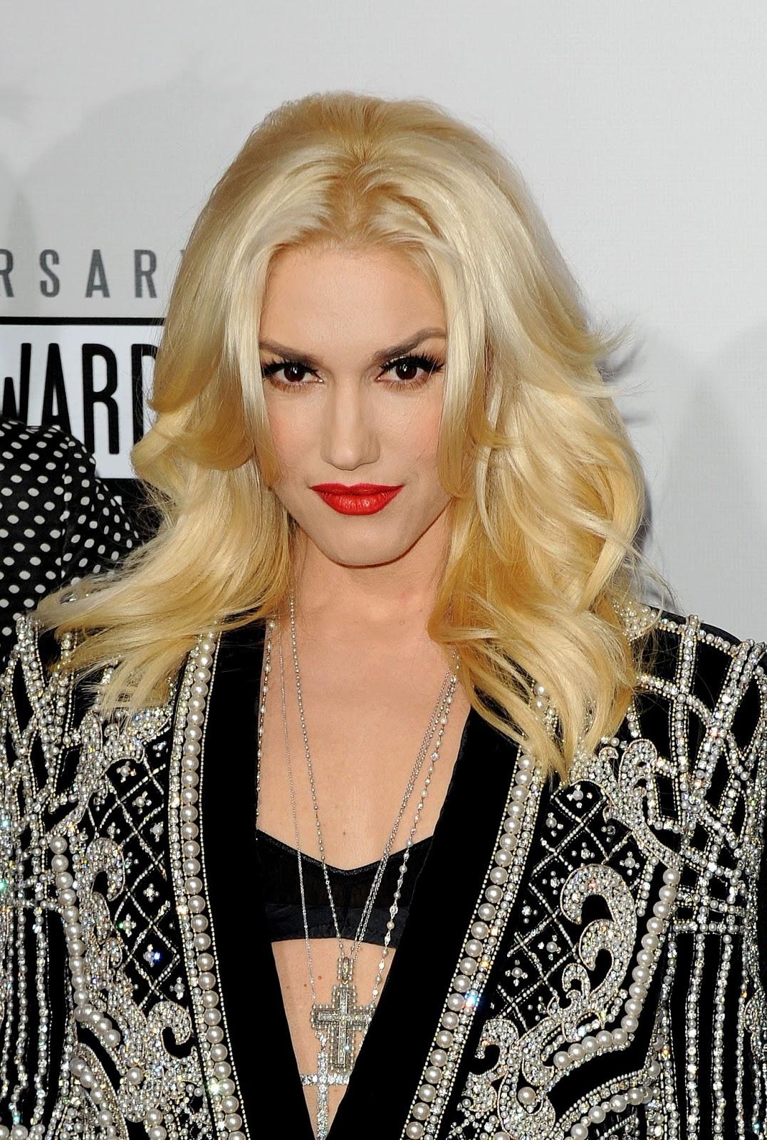 Gwen Stefani Red Lip