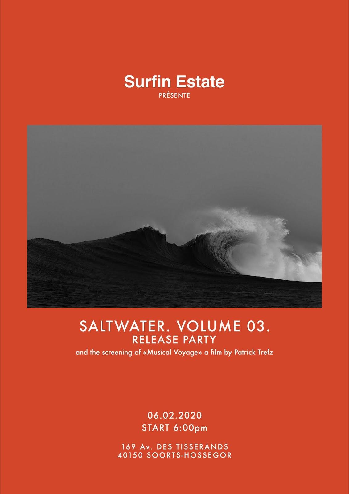 SurfinEstate saltwater magazine Arthur Nelli Vincent Lemanceau Hossegor France shop surf culture