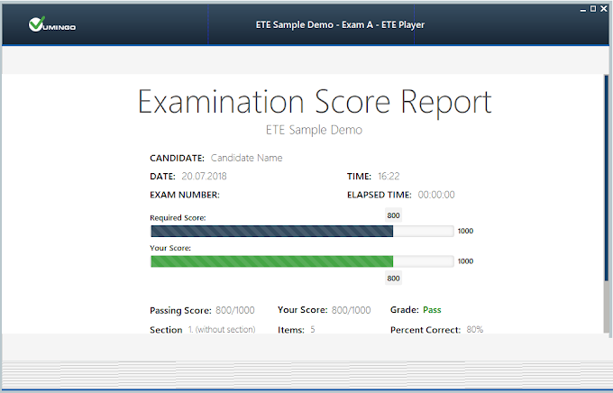 Exam Testing Engine (ETE) an Alternative to VCE Exam Simulator