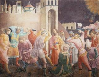 Lapidazione - Santo Stefano - Paolo Uccello