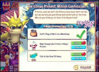 Even Minions have Christmas spirit.