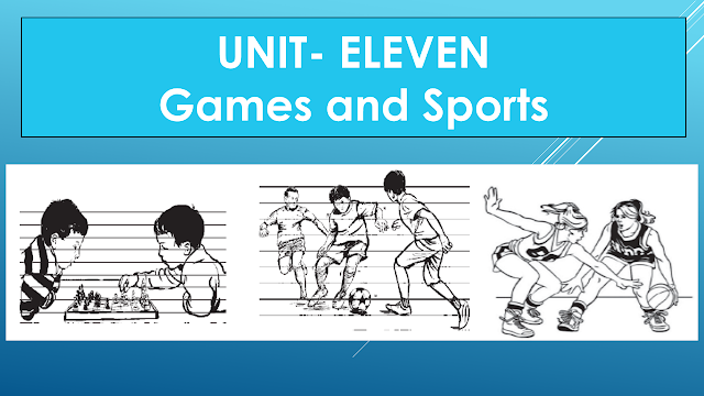 Solution of Class Eight (VIII) English | Unit- Eleven | Games and Sports