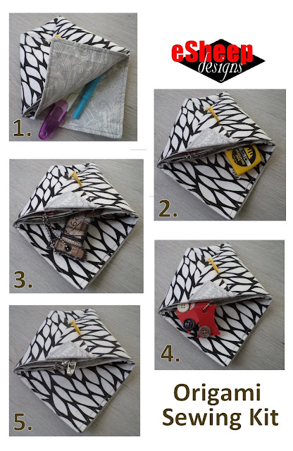 Origami Sewing Kit by eSheep Designs