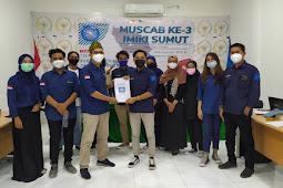 Sah! Muhammad Nur Fadly Ketua IMIKI Sumut Periode 2021-2022