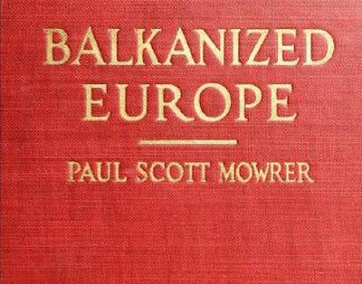 Balkanized Europe 1921 PDF