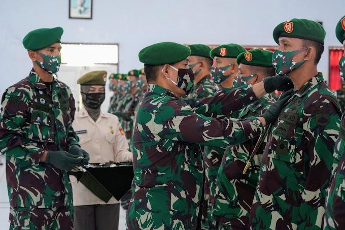9 Jabatan Strategis di Lingkungan Korem 071/Wijayakusuma  Diserahterimakan