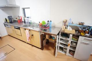 設置後のキッチン