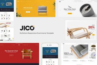 Furniture & Decor Shop Website Theme