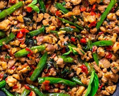 Healthy Recipes | Thai Basil Chicken (Easy Gai Pad Krapow), Healthy Recipes For Weight Loss, Healthy Recipes Easy, Healthy Recipes Dinner, Healthy Recipes Pasta, Healthy Recipes On A Budget, Healthy Recipes Breakfast, Healthy Recipes For Picky Eaters, Healthy Recipes Desserts, Healthy Recipes Clean, Healthy Recipes Snacks, Healthy Recipes Low Carb, Healthy Recipes Meal Prep, Healthy Recipes Vegetarian, Healthy Recipes Lunch, Healthy Recipes For Kids, Healthy Recipes Crock Pot, Healthy Recipes Videos, Healthy Recipes Weightloss, Healthy Recipes Chicken, Healthy Recipes Heart, Healthy Recipes For One, Healthy Recipes For Diabetics, Healthy Recipes Smoothies, Healthy Recipes For Two, Healthy Recipes Simple, Healthy Recipes For Teens, Healthy Recipes Protein, Healthy Recipes Vegan, Healthy Recipes For Family, Healthy Recipes Salad, Healthy Recipes Cheap, Healthy Recipes Shrimp, Healthy Recipes Paleo, Healthy Recipes Delicious, Healthy Recipes Gluten Free, Healthy Recipes Keto, Healthy Recipes Soup, Healthy Recipes Beef, Healthy Recipes Fish, Healthy Recipes Quick, Healthy Recipes For College Students, Healthy Recipes Slow Cooker, Healthy Recipes Summer, Healthy Recipes Vegetables, Healthy Recipes Diet, Healthy Recipes No Meat, Healthy Recipes Asian, Healthy Recipes On The Go, Healthy Recipes Fast, Healthy Recipes Ground Turkey, Healthy Recipes Rice, Healthy Recipes Mexican, Healthy Recipes Fruit, Healthy Recipes Tuna, Healthy Recipes Sides, Healthy Recipes Zucchini, Healthy Recipes Broccoli, Healthy Recipes Spinach,  #healthyrecipes #recipes #food #appetizers #dinner #thai #basil #chicken