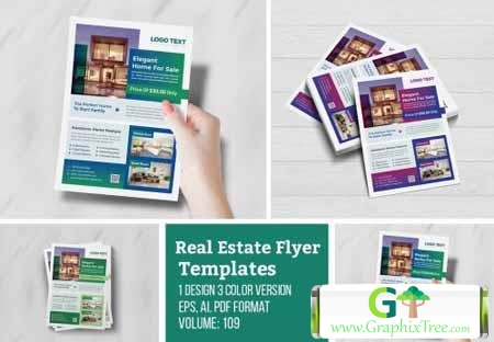 Real Estate Corporate Flyer[Photoshop][4974720]