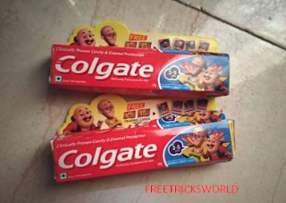 Get Colgate Vedshakti Toothpaste Absolutely free