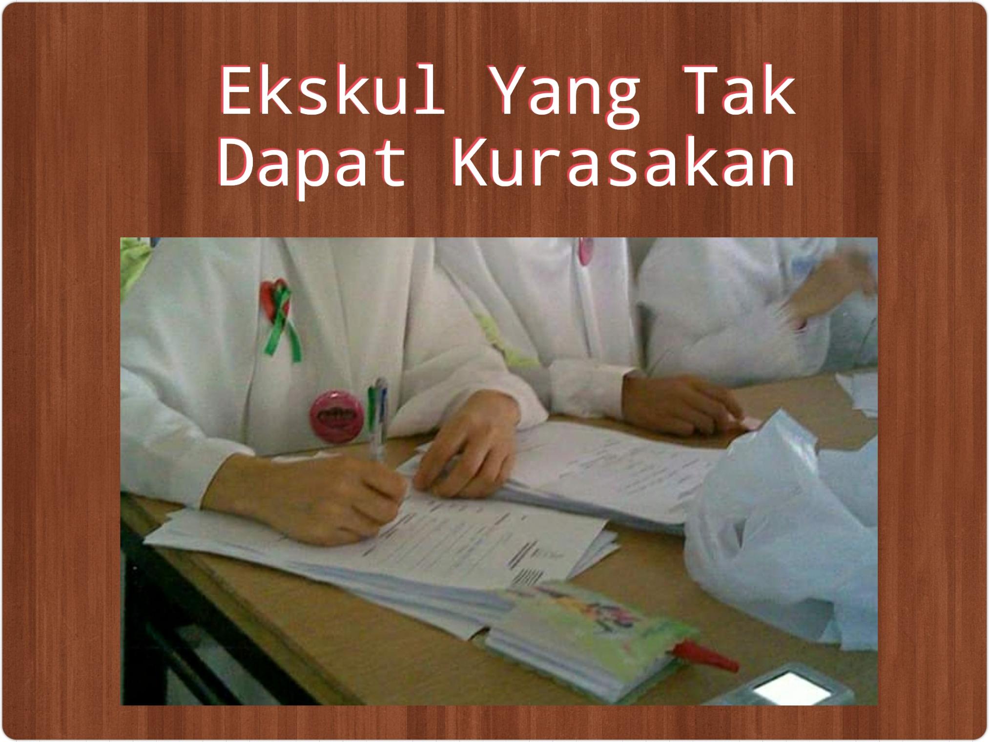 Ekskul, Extracurricular, extrakurikuler