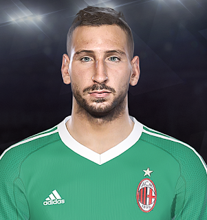 PES 2018 Faces Antonio Donnarumma by Prince Hamiz