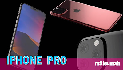iphone pro لأول مرة بثلاث كاميرات وأسرع معالج على الإطلاق