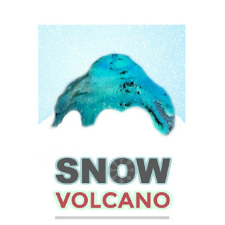 FUN KID SCIENCE: Make a snow volcano! #scienceforkids #winteractivitiesforkids