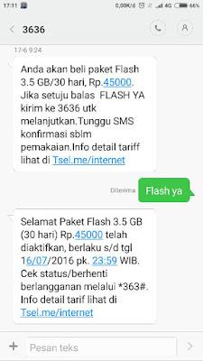 paket Flash simpati