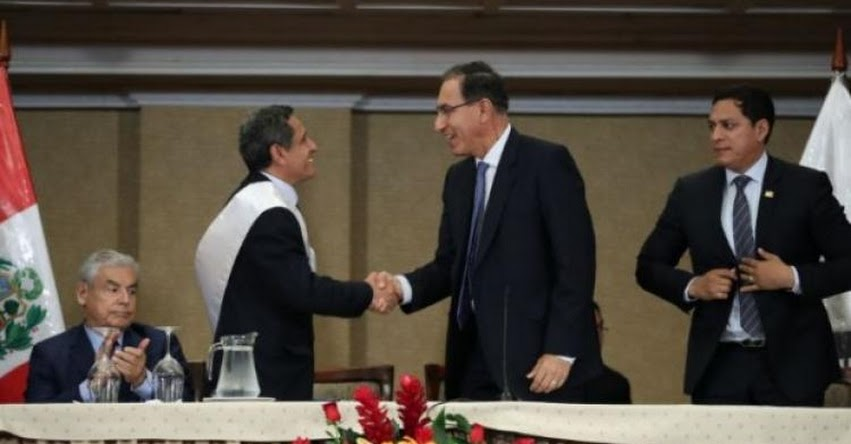 MESÍAS GUEVARA AMASIFUÉN: Gobernador regional de Cajamarca es el nuevo presidente de la «Asamblea Nacional de Gobiernos Regionales» ANGR