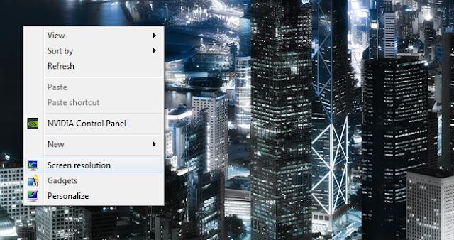 Cara Agar Wallpaper Terlihat Menyatu Pada 2 Monitor