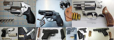 Guns Discovered at (L-R) EUG, CHO, MSY, TYS, BOI, BIL, ABQ, ACT, DFW