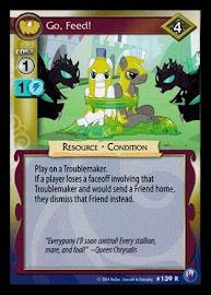 My Little Pony Go, Feed! Canterlot Nights CCG Card