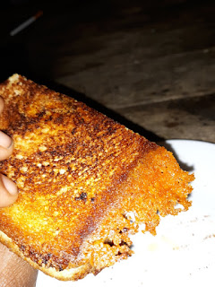 Hot Sausage Grilled Cheese