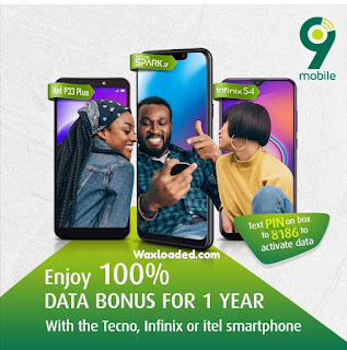 9mobile Free 1 YEAR Data Bonus
