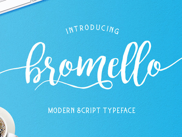 Download Bromello Modern Script Font Free