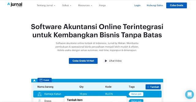 Screenshot Website Jurnal.id